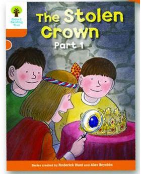オックスフォードリーディングツリー ORT レベル6 ステージ6 stage6 More Stories B The Stolen Crown Part 1 表紙