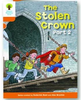 オックスフォードリーディングツリー ORT レベル6 ステージ6 stage6 More Stories B The Stolen Crown Part 2 表紙