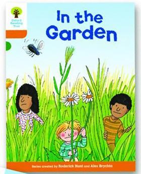 オックスフォードリーディングツリー ORT レベル6 ステージ6 stage6 Stories In the Garden 表紙