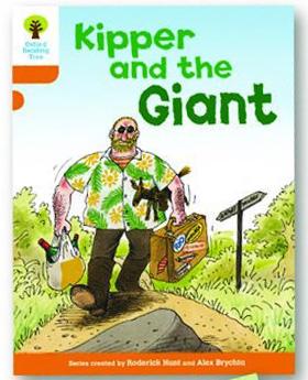オックスフォードリーディングツリー ORT レベル6 ステージ6 stage6 Stories Kipper and the Giant 表紙
