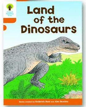 オックスフォードリーディングツリー ORT レベル6 ステージ6 stage6 Stories Land of Dinosaurs 表紙