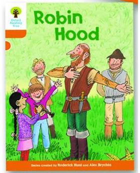 オックスフォードリーディングツリー ORT レベル6 ステージ6 stage6 Stories Robin Hood 表紙