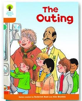 オックスフォードリーディングツリー ORT レベル6 ステージ6 stage6 Stories The Outing 表紙