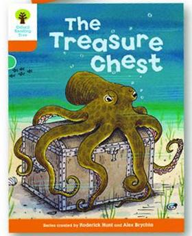 オックスフォードリーディングツリー ORT レベル6 ステージ6 stage6 Stories The Treasure Chest 表紙